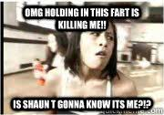 Shaun T Memes - omg holding in this fart is killing me is shaun t gonna know its