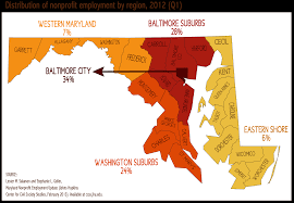 State Of Maryland Map by The Nonprofit Sector In Maryland An Update Johns Hopkins Center