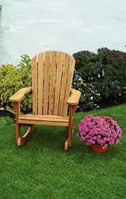 Rocking Chairs On Porch Pine Wood Fan Back Rocking Chair