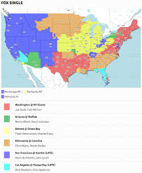 Nfl Usa Map by Green Bay Packers U2013 Official Blog Where To Watch
