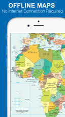 clear world map with country names world map 2017 free on the app store