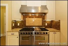 Kitchen Tile Backsplash Ideas Designer Kitchen Ideas - Brown subway tile backsplash