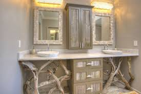 Rustic Bathroom Furniture Various Bathroom 33 Stunning Rustic Vanity Ideas Remodeling