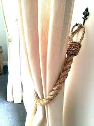 Rope Curtain Tie Back Rope Curtain Tie Backs Like This Item Rope Curtain Tie Backs Ebay