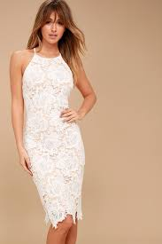white lace white lace dress bodycon dress sleeveless dress