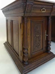 Chef Schreibtisch Schreibtisch Büromöbel Büroschreibtisch Antik Gründerzeit Um 1880