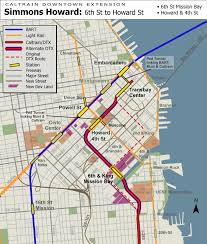 Bart System Map Uncrooking San Francisco U0027s Crookedest Tunnel