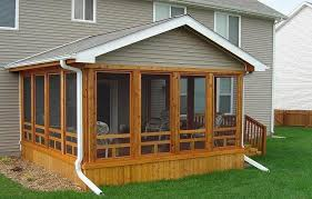 Enclosed Porch Plans Cedar Screened In Porch Screened In Porch Screen Porches Home