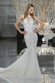 wedding dress nyc pronovias 2018 collection nyc fashion show nyc fashion green