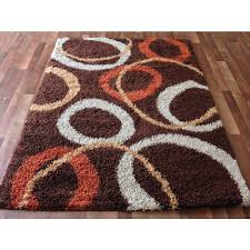 Orange Area Rugs Brown And Orange Living Room Rugs 1025theparty