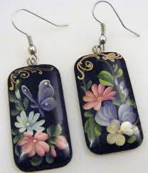 107 best paper mache earring images on paper jewelry