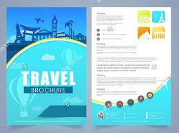 travel brochure templates african safari brochure template design