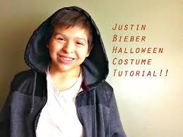 justin bieber halloween costume tutorial youtube