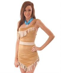 pocahontas costume indian woman west fancy dress pocahontas costume