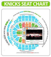 new york knicks seating chart madison square garden