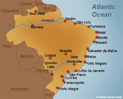 city map of brazil places in town s guide