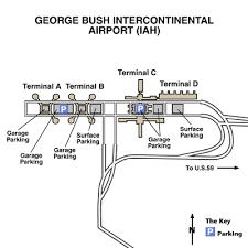 map houston airports george bush intercontinental airport maps maps and directions to