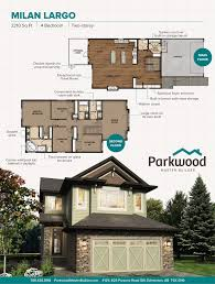 Home Floor Plans Edmonton by Custom Two Storey Home Designs Fine Home Building New Homes