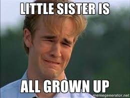 Little Sister Meme - 9 sister memes for national sibling day because no one makes you