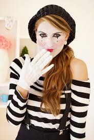 Zebra Halloween Makeup by 50 Diy Halloween Costumes For The Whole Family Mime Costume Diy