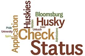 check my admission status intranet bloomu edu