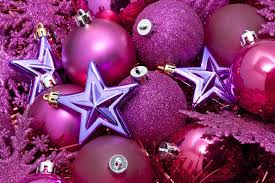 purple christmas background ne wall