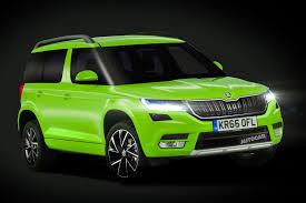 2018 skoda yeti to take inspiration from new kodiaq autocar