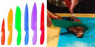 colorful kitchen knives this 20 knife set is ridiculously high quality and will become