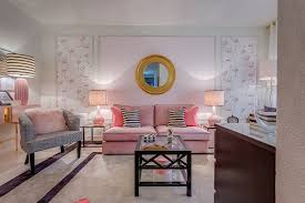 pink living room ideas classy and cheerful pink living rooms