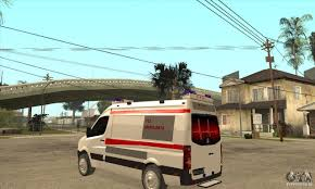 volkswagen crafter back volkswagen crafter ambulance for gta san andreas