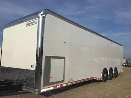 30 u0027 cabinets down side wall x tra ht haulmark edge car trailer
