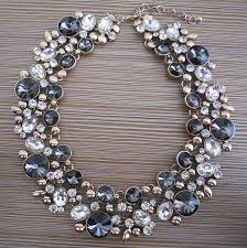 crystal collar statement necklace images Ppg pgg2017 new luxury women imitation pearl jewelry crystal jpg