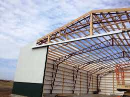 steel trusses for residential homes metal and post frame buildings image of advantages of steel roof trusses designs ideas
