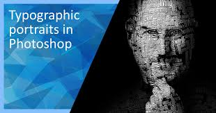 typography portrait tutorial photoshop elements typographic portrait in photoshop