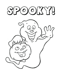 free printable spooky coloring pages scary halloween for