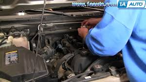 how to install replace spark plugs chevy colorado 1aauto com youtube