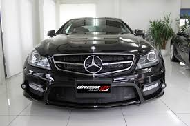 mercedes c class coupe tuning expression motorsport enhances mercedes c class coupe with a