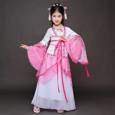 girls ancient chinese costume princess costume for girls pink