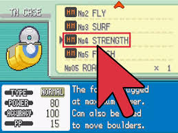 Where To Find Rock Candy How To Get Strength On Pokémon Leaf Green 4 Steps