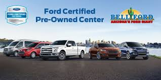 ford certified pre owned ford certified pre owned center in az bell ford