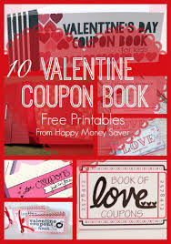 Valentine S Day Gifts For Him Homemade by 10 Valentines Day Coupon Book Free Printables