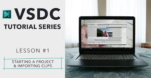 tutorial video editing vsdc free video editing software beginner editing tutorial 1 3