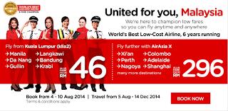 airasia travel fair airasia promotions cheap ticket zero fare