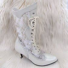 victorian wedding boots ebay