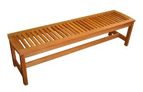 plans for outdoor wooden backless benches garden furniture