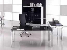 bureaux en verre bureaux de direction noir achat bureaux de direction noir pas cher