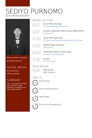 social media manager resume sles visualcv resume sles database