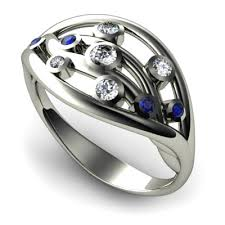 Contemporary Wedding Rings by Contemporary Wedding Rings Engagement Rings On This 18ct White