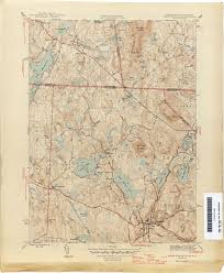 Map Of The Midwest Massachusetts Historical Topographic Maps Perry Castañeda Map