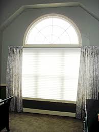 Curved Window Curtains Arched Window Susan U0027s Designs